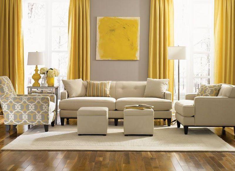 Фото № 9: Горчичный цвет в интерьере квартиры: 20 ярких идей