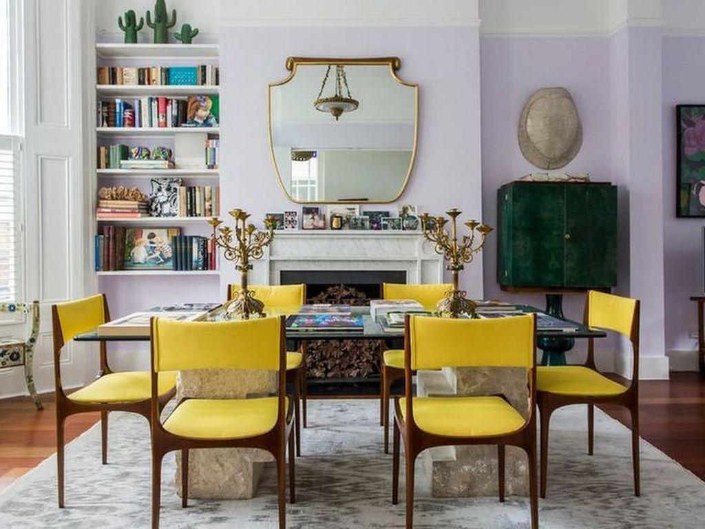 Фото № 13: Горчичный цвет в интерьере квартиры: 20 ярких идей