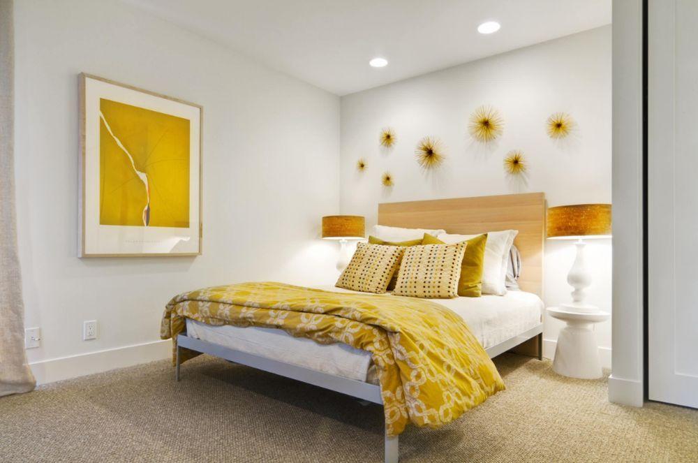 Фото № 1: Горчичный цвет в интерьере квартиры: 20 ярких идей