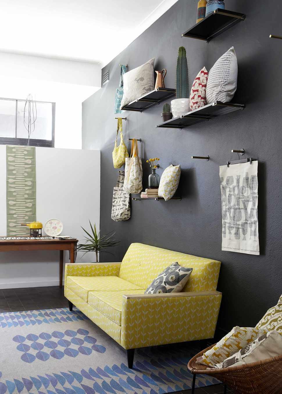 Фото № 3: Горчичный цвет в интерьере квартиры: 20 ярких идей