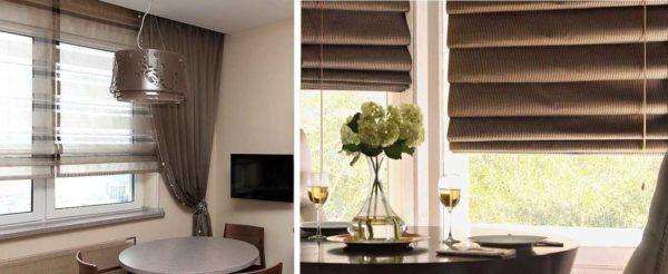 Плотные и полупрозрачные ткани можно использовать по-разному