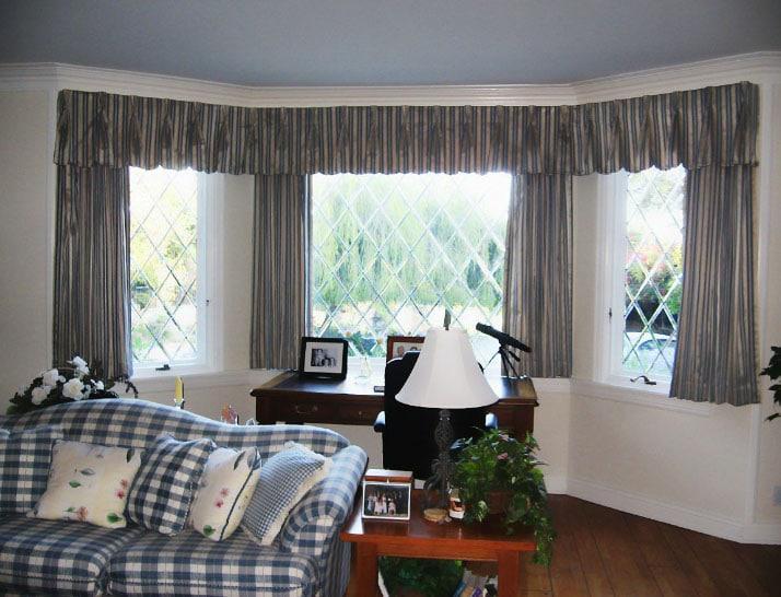 шторы для эркерных окон