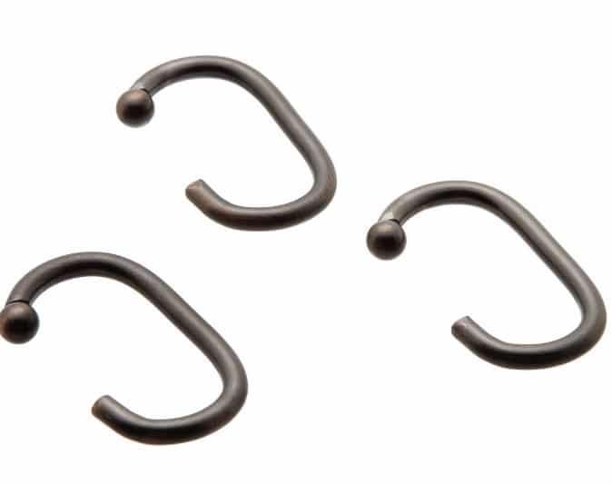 металлические крючки для штор