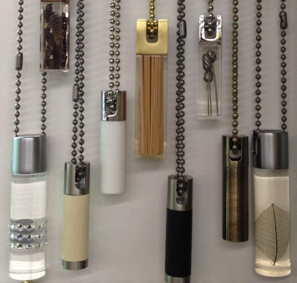 Различные грузики для цепочки рулонной шторы