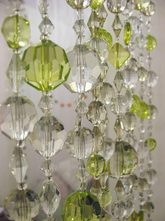 Занавеска из стеклянных бусин