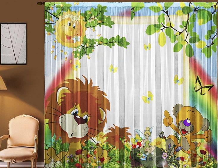 красивые шторы для детской