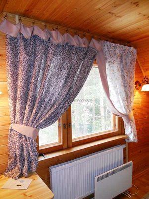Короткие шторы для окон