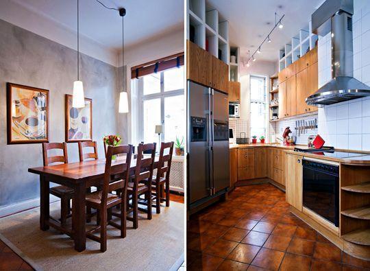 Дизайн кухонь с высокими потолками
