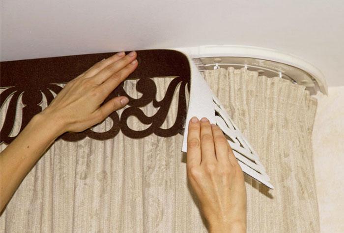 Ажурные ламбрекены: создаем красоту своими руками
