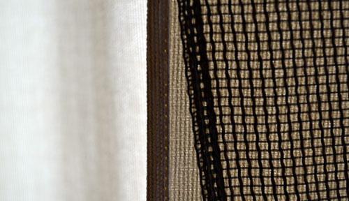 Технология обработки края шторы двойной подгибкой