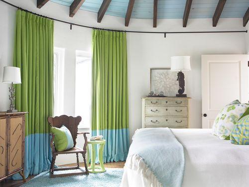 Способы как красиво удлинить шторы снизу
