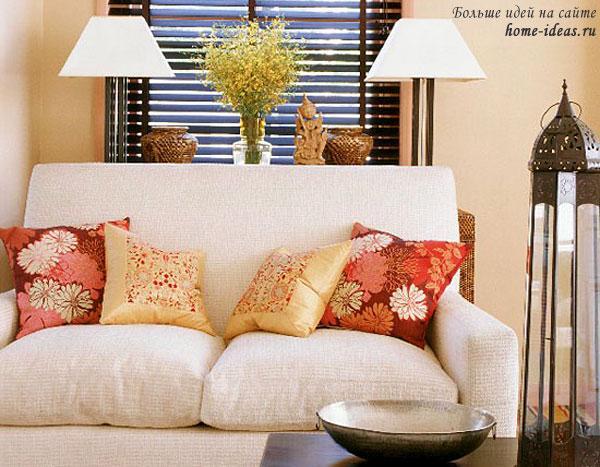 идеи подушек для дивана