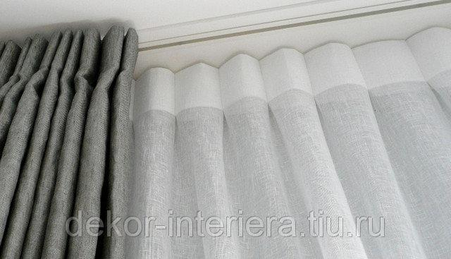Карниз потолочный для тяжёлых штор