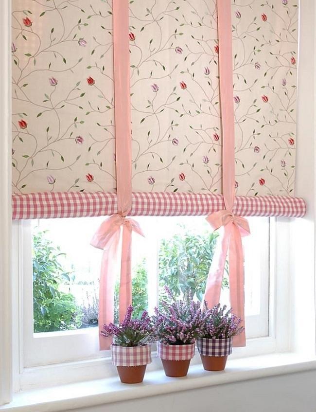 рулонные шторы из ткани своими руками