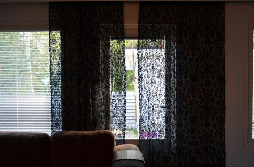 Кружевные шторы в вашем доме
