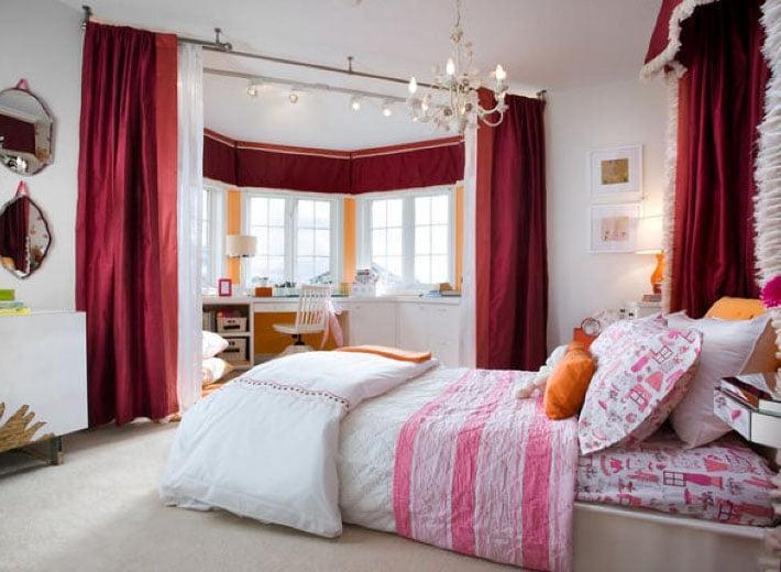 шторы перегородки в стиле комнаты