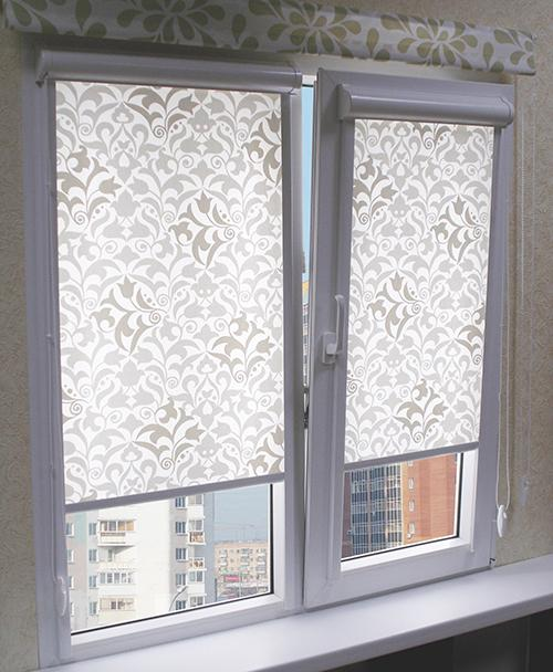 Рулонные шторы для пластиковых окон.