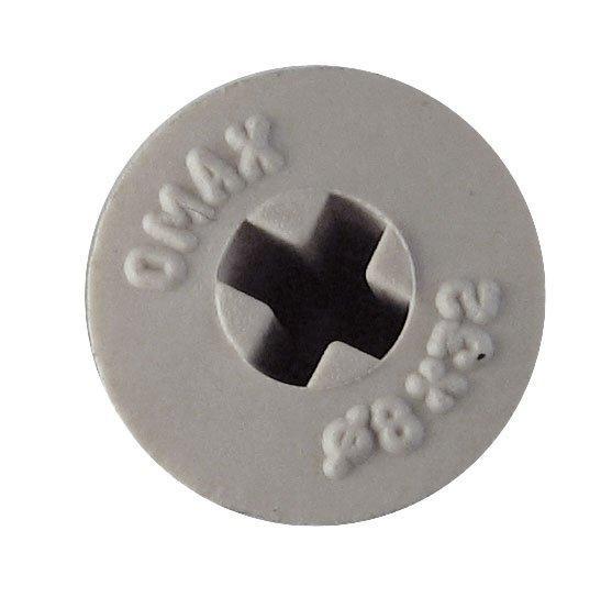 Крестообразный паз сделан для того, чтобы надевать дюбель на отвертку