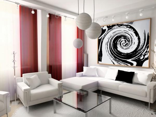 modern, interior, house, dwelling, design, technology, 3d