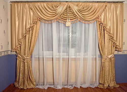 Выбираем шторы в богатые дома