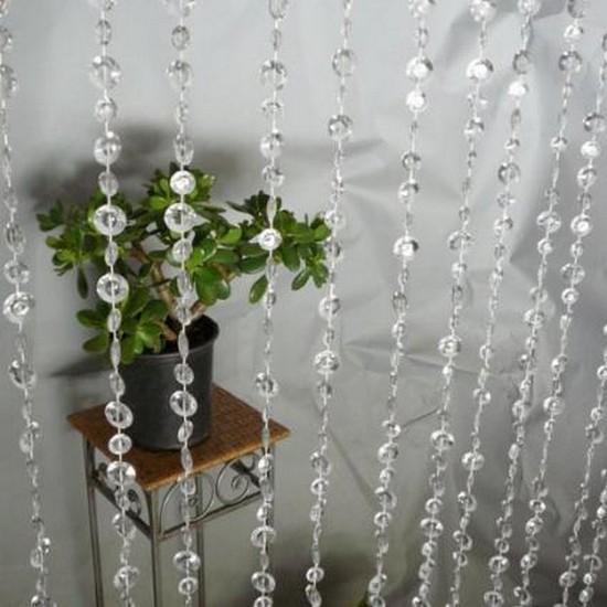 шторы-бусины в интерьере