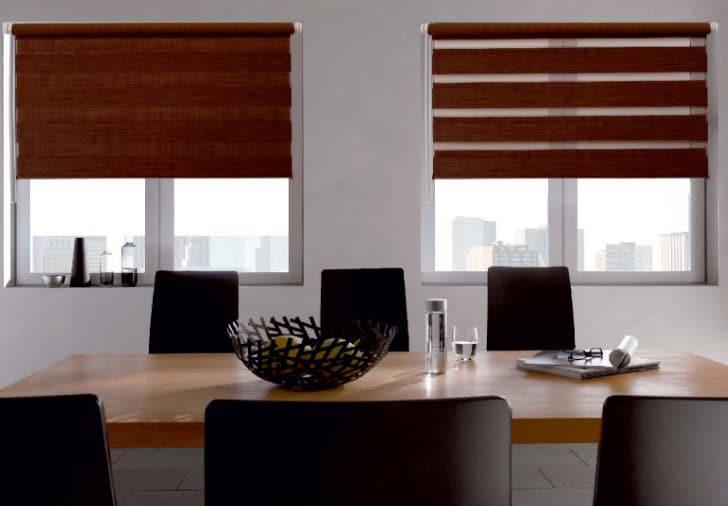 шторы уют в офисе