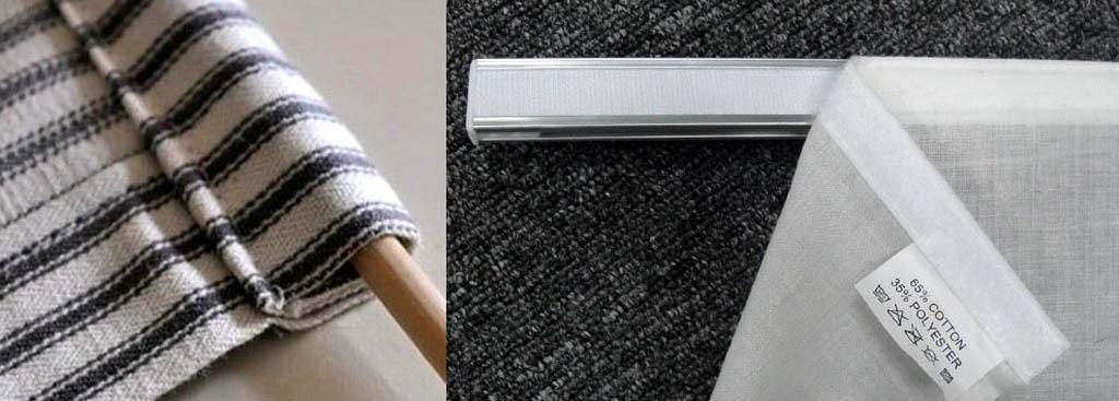Утяжелитель (рольвал) самодельной рулонной шторы и способ крепления ее верха к карнизу