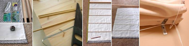 Шитье и изготовление римских штор своими руками