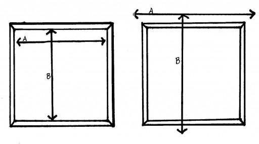 Для правильного раскроя нужно определиться с размерами римских штор