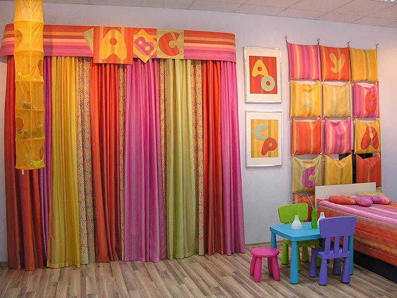Фото штор для детской комнаты