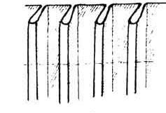 Тюль складками