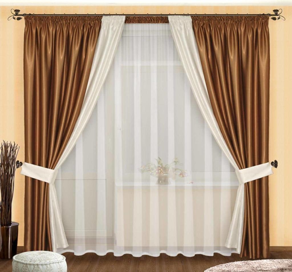 Ткани разной текстуры и цвета позволяют создать оригинальное и современное оформление для любой комнаты