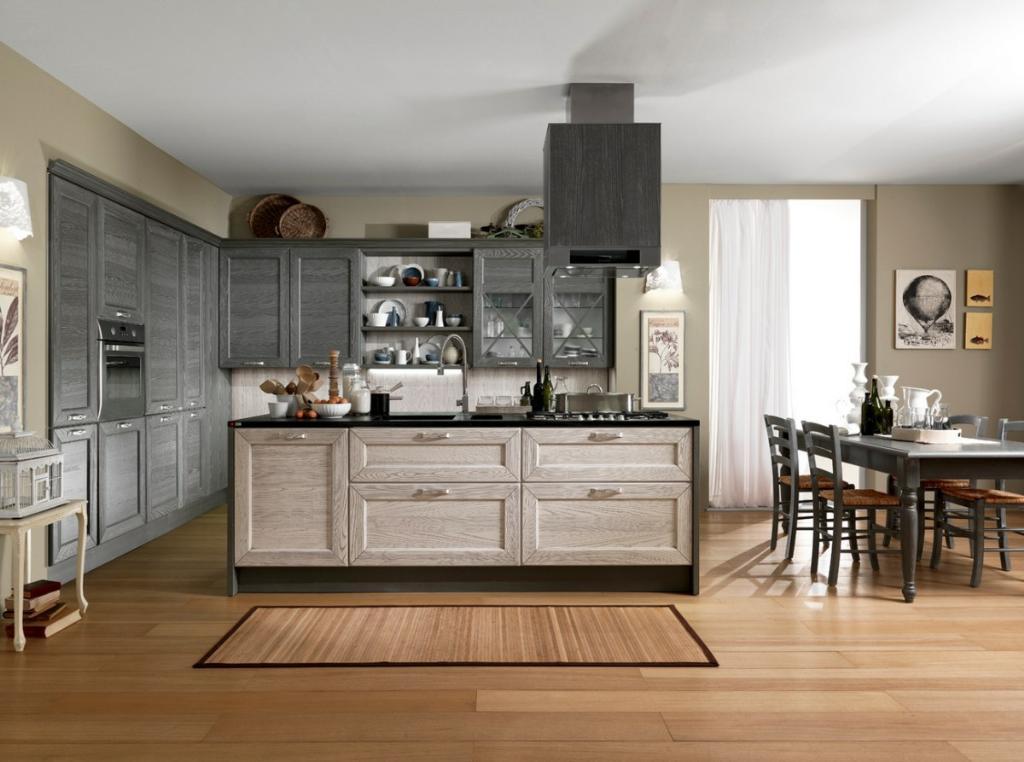 Шторы для кухни в стиле модерн