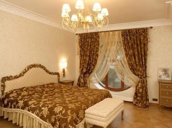 Шторы классические красивые для спальни