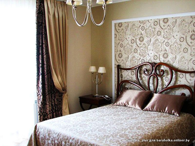 Красивое сочетание цвета спальный комплект