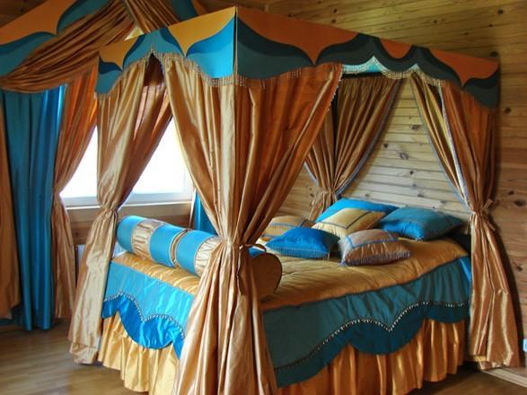 Как красиво драпировать шторы в спальне