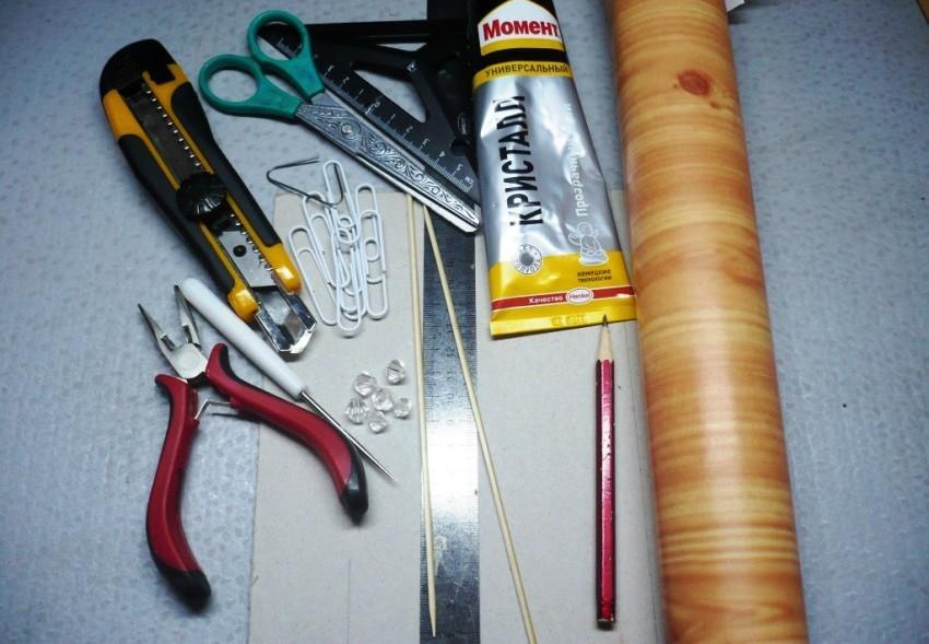 Пред тем как приступить к работе, нужно собрать необходимые инструменты