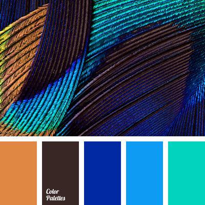 Какие шторы подобрать к голубому цвету стен