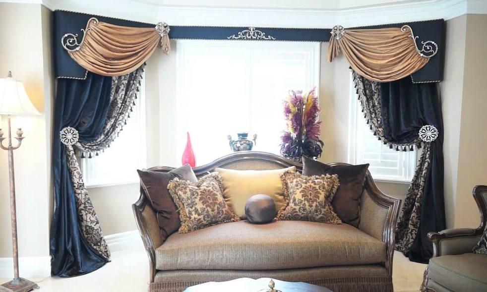 Дизайн интерьера и шторы - единое целое