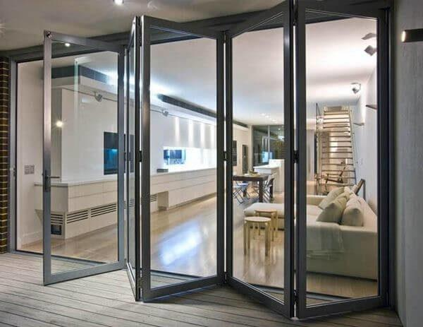 дверь-гармошка на балкон